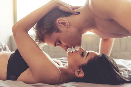 perfekter Kuss